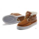 Зимние кроссовки Nike Sweet Classic Leather Brown Premium 2017