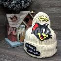 """Бежевая зимняя шапка """"Том"""" Tom and Jerry Beanie Beige"""