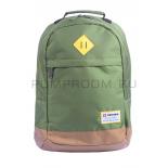 Зелёный городской рюкзак Swisswin Green Gold Backpack