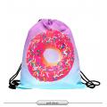 Рюкзак-мешок на завязках School Backpack Pink Donut