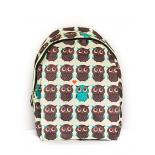 Городской рюкзак с совами Brown Owl Backpack SL