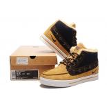 Зимние замшевые кроссовки Nike Sweet Classic Leather Light Brown