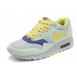 Жёлто-бирюзовые женские кроссовки Nike Air Max 87