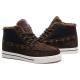 Зимние замшевые кроссовки Nike Sweet Classic Leather Dark Brown Winter