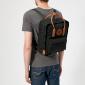 Чёрный рюкзак Fjallraven Kanken Classic No. 2 Black 550