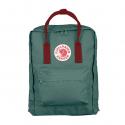 Бирюзовый-красный рюкзак Fjallraven Kanken Classic Forest Green Red