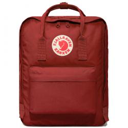 Бордовый тканевый рюкзак Fjallraven Kanken Classic Bag Deep Red
