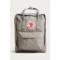 Серый тканевый рюкзак Fjallraven Kanken Classic Fog Premium 2018