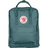 Бирюзовый тканевый рюкзак Fjallraven Kanken Classic Forest Green Premium