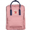 Розовый/синий тканевый рюкзак Fjallraven Kanken Classic Bag Pink Blue