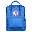 Ярко-синий тканевый рюкзак Fjallraven Kanken Classic Blue 525 Premium
