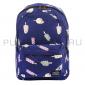 """Синий тканевый рюкзак """"Сладости"""" Backpack Sweets Blue"""