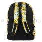 "Бирюзовый тканевый рюкзак ""Бананы"" Backpack Banana Green"