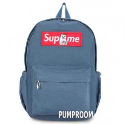 Синий тканевый рюкзак Backpack Blue RipnDip Supreme