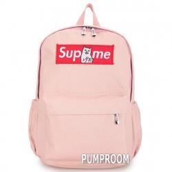 Розовый тканевый рюкзак Backpack Pink RipnDip Supreme