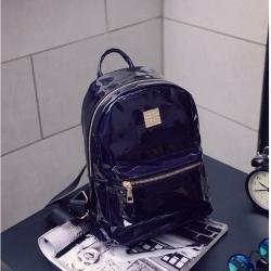 Чёрный голографический рюкзак Backpack Black Hologram