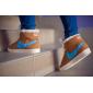 Зимние коричневые кроссовки Women Nike Blazer Premium Retro Brown Jade