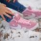 Зимние розовые кроссовки Women Nike Blazer Premium Retro Pink