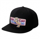 Чёрная бейсболка Forrest Gump Bubba Gump Shrimp Black