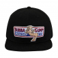 Чёрная бейсболка Forrest Gump Bubba Gump Shrimp Black Snapback