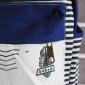 Синий тканевый рюкзак в полоску Backpack My Camier Girl Blue Strip