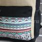 Чёрный тканевый рюкзак Backpack Teddy Aztec Black