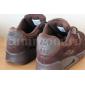 Коричневые замшевые кроссовки Nike Air Max 90 Brown M90