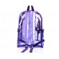 Фиолетовый силиконовый прозрачный рюкзак Violet Transparent Silicone Backpack