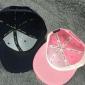 Розовая бейсболка с прямым козырьком без логотипа No Logo Blank Pink Snapback