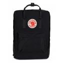 Чёрный тканевый рюкзак Fjallraven Kanken Classic Bag Black