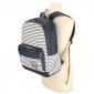 Тёмно-синий джинсовый рюкзак в полоску Animal Jeans Classic Backpack Dark