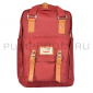 Бордовый рюкзак Doughnut Macaroon Backpack Dark Red