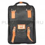 Чёрный рюкзак Doughnut Macaroon Backpack Black