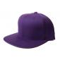 Фиолетовая бейсболка с прямым козырьком без логотипа No Logo Purple Snapback