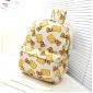 Светло-бежевый тканевый рюкзак Bart Simpson Backpack Beige