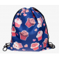 Рюкзак-мешок на завязках School Backpack Cupcakes Blue