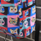 Разноцветный женский рюкзак Cat Face Backpack Colorful