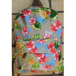Коричневый рюкзак с ананасами Tropical Pineapple Backpack Brown
