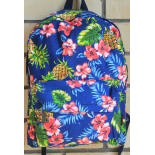 Синий рюкзак с ананасами Tropical Pineapple Backpack Blue