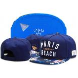 Синяя бейсболка с прямым козырьком Cayler & Sons Snapback Paris Need a Beach