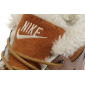 Зимние кроссовки Nike Sweet Classic Leather Brown Premium 2017