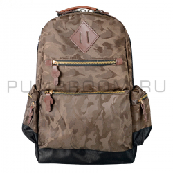 Коричневый женский милитари рюкзак Brown Backpack Military Woman 2017