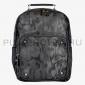 Чёрный кожаный милитари рюкзак Backpack Leather Military Black