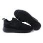 Чёрные кроссовки Nike Roshe Run Full Black