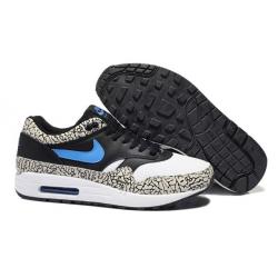 Чёрно-серые мужские кроссовки Nike Air Max 87 Black Gray Asphalt