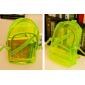 Розовый силиконовый прозрачный рюкзакPink Transparent Silicone Backpack