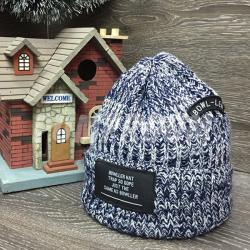 Серая зимняя шапка Beanie Bowller Dope Gray