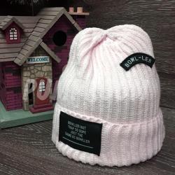 Розовая зимняя шапка Beanie Bowller Dope Pink