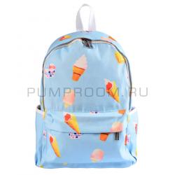 "Голубой рюкзак ""Мороженое"" Nikki Nanaomi Backpack IceCream"