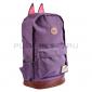 Фиолетовый женский рюкзак с кошачьими ушками Polyester Cat Ear Backpack Violet